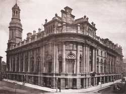 The Royal Exchange, South-West View